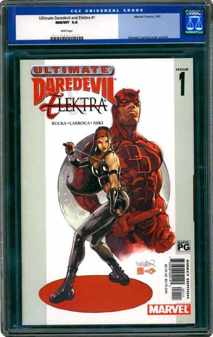 CGC Graded Comics - Ultimate Daredevil and Elektra #1 (CGC)