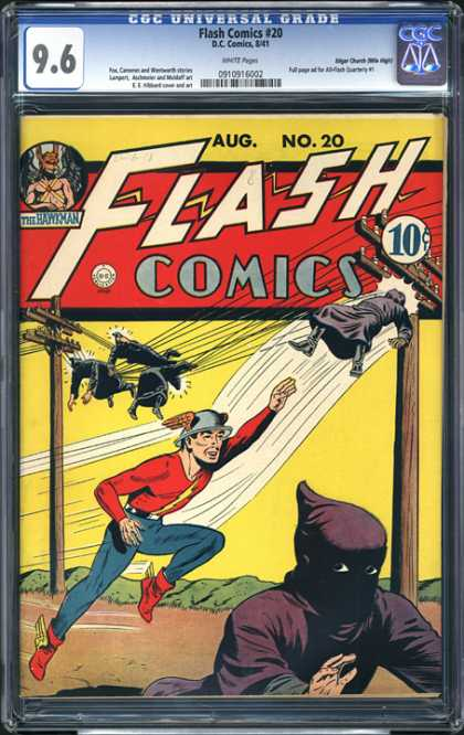 CGC Graded Comics - Flash Comics #20 (CGC)