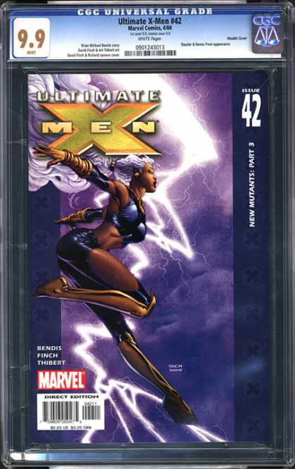 CGC Graded Comics - Ultimate X-Men #42 (CGC) - Ultimate X-men - Storm - Marvel - New Mutants - Lightning