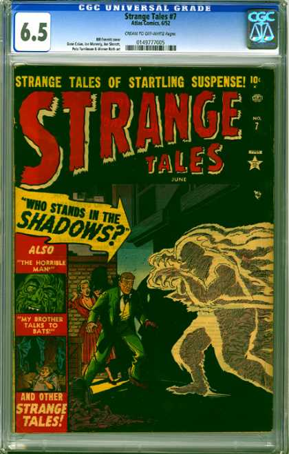 CGC Graded Comics - Strange Tales #7 (CGC)
