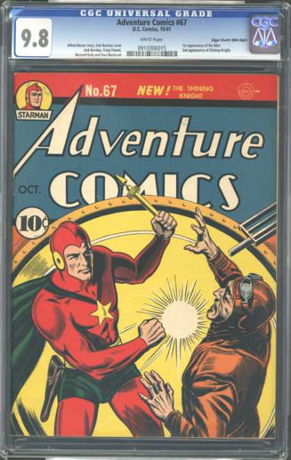 CGC Graded Comics - Adventure Comics #67 (CGC)