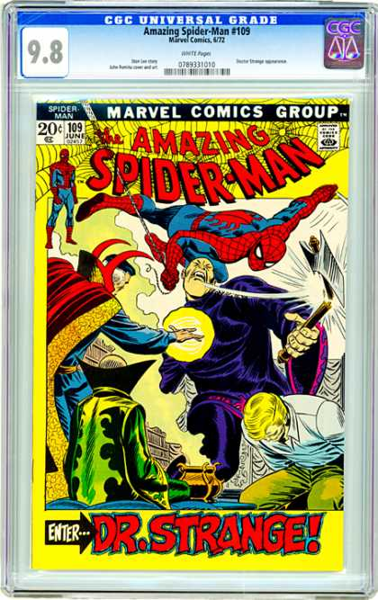 CGC Graded Comics - Amazing Spider-Man #109 (CGC)