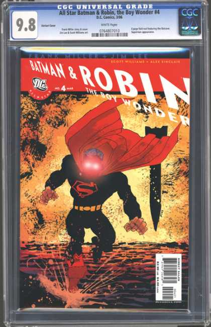CGC Graded Comics - All Star Batman & Robin, the Boy Wonder #4 (CGC)