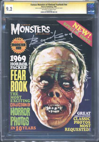 CGC Graded Comics - Famous Monsters of Filmland Yearbook #nn (CGC)