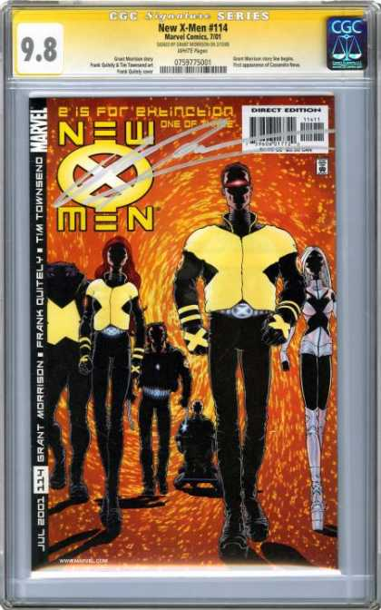 CGC Graded Comics - New X-Men #114 (CGC)