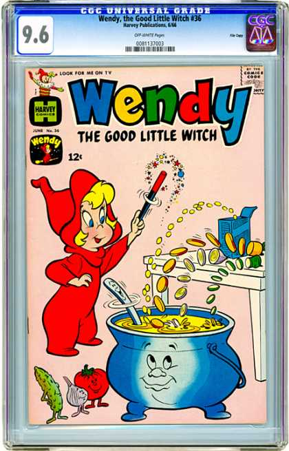 CGC Graded Comics - Wendy, the Good Little Witch #36 (CGC)
