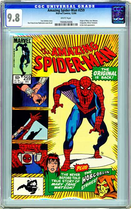 CGC Graded Comics - Amazing Spider-Man #259 (CGC)