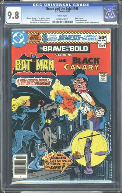 CGC Graded Comics - Brave and the Bold #166 (CGC) - Batman - Black Canary - Dc Comics - No 166 - Return Of The Penguin