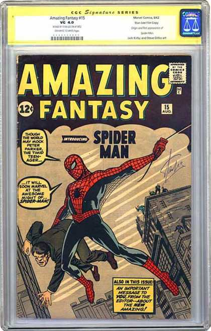 CGC Graded Comics - Amazing Fantasy #15 (CGC)