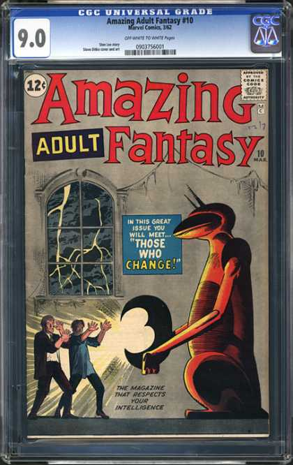 CGC Graded Comics - Amazing Adult Fantasy #10 (CGC)