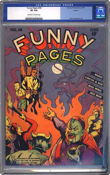 CGC Graded Comics - Funny Pages #38 (CGC)