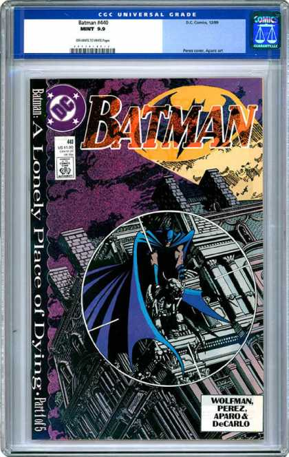 CGC Graded Comics - Batman #440 (CGC)