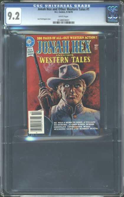 CGC Graded Comics - Jonah Hex and Other Western Tales #1 (CGC) - Jonah Hex - Dc - Western - Confederate - Pistol