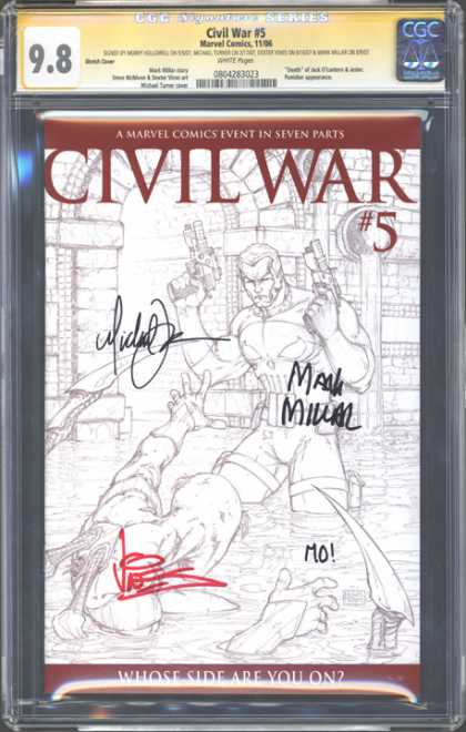 CGC Graded Comics - Civil War #5 (CGC)
