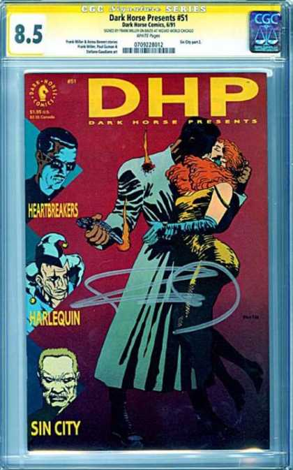 CGC Graded Comics - Dark Horse Presents #51 (CGC)
