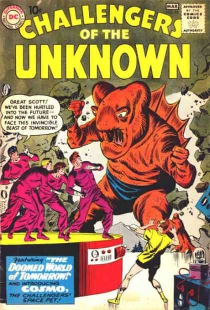 Challengers of the Unknown 18 - The Future - Beast Of Tomorrow - Cosmo - Doomed World Of Tomorrow - Space Pet - Denis Rodier