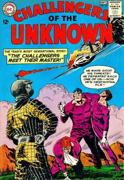 Challengers of the Unknown 33