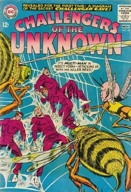 Challengers of the Unknown 40
