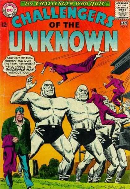 Challengers of the Unknown 41