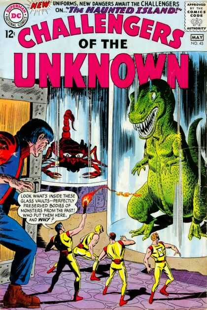 Challengers of the Unknown 43 - Dc - Dc Comics - Challengers - Trap - Haunted Island
