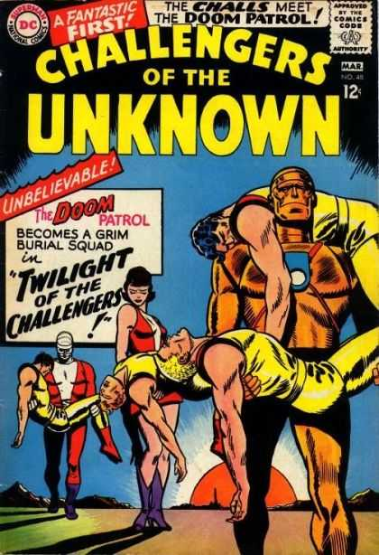Challengers of the Unknown 48