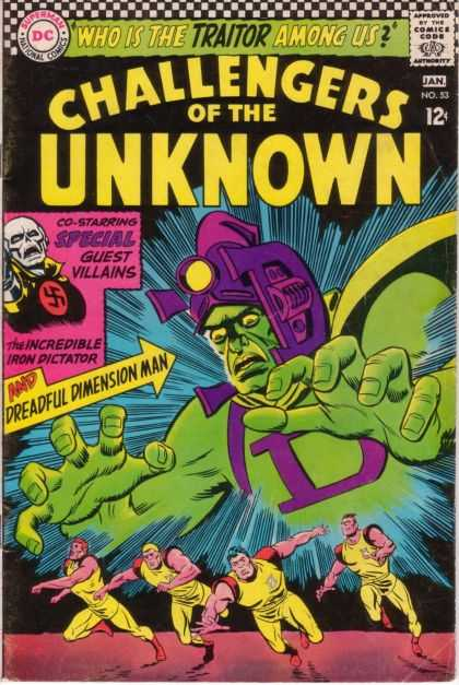 Challengers of the Unknown 53