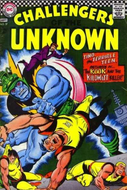 Challengers of the Unknown 57