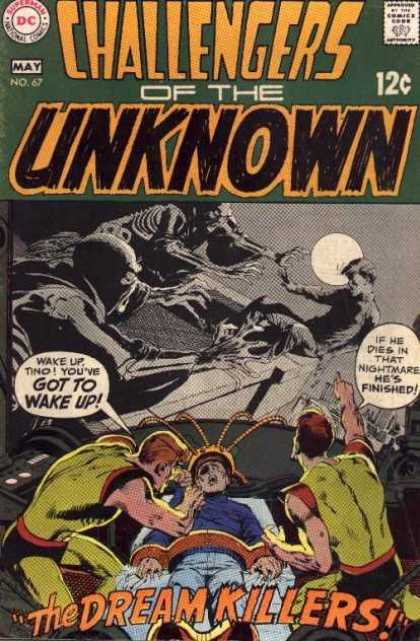 Challengers of the Unknown 67 - Dc Comics - Silver Age - Sci-fi Stories - Weird Tales - Horror - Neal Adams
