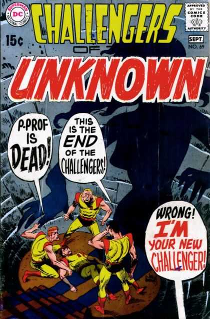 Challengers of the Unknown 69 - Dc - Challengers - The End - New Challenger - Death Trap - Joe Kubert