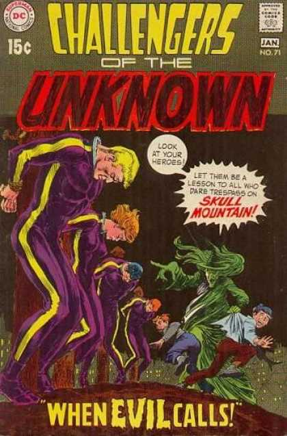 Challengers of the Unknown 71