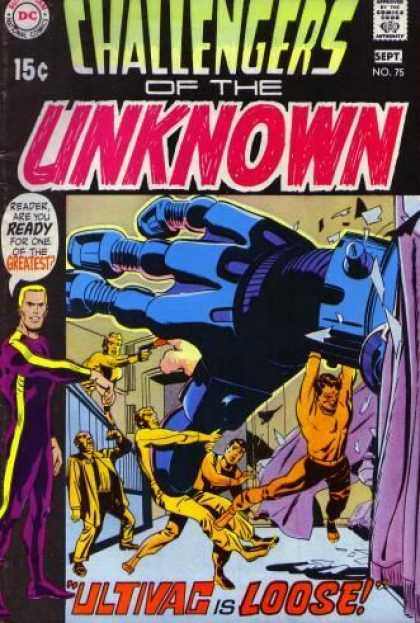 Challengers of the Unknown 75 - Jack Kirby
