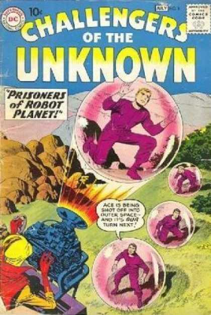 Challengers of the Unknown 8 - Jack Kirby, Matt Hollingsworth