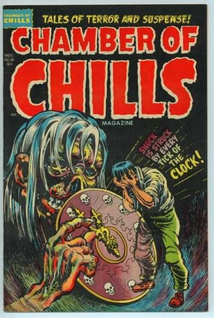 Chamber of Chills 20 - Tales Of Terror And Suspense - Shock - Is Struck - By Every Tick - Of The Clock