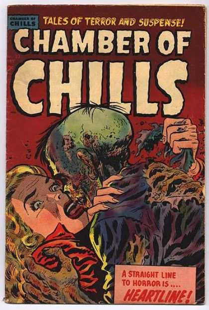 Chamber of Chills 23 - Heartline - Decomposing Body - Blonde - Woman - Tales Of Terror And Suspense