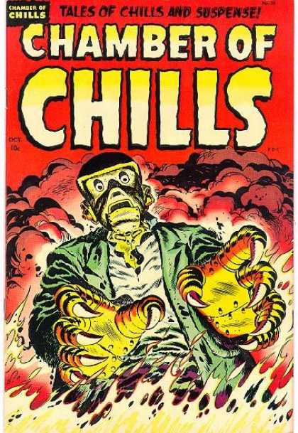 Chamber of Chills 25 - Suspense - Claws - Robot - Smoke - Fire