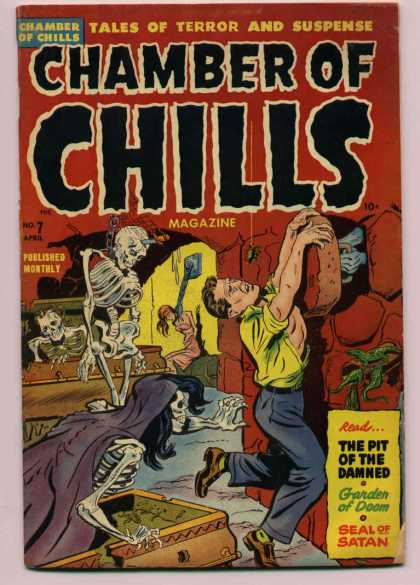 Chamber of Chills 7 - Skeletons - Zombies - The Pit Of The Damned - Garden Of Doom - Seal Of Satan