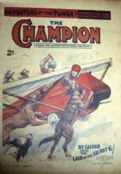 Champion 545 - Glider - Dogs - People - Lair Of The Secret - Pilots