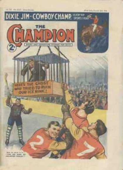 Champion 779 - Dixie Jim - Cowboy Champ - Ghost - Ruin - Cage