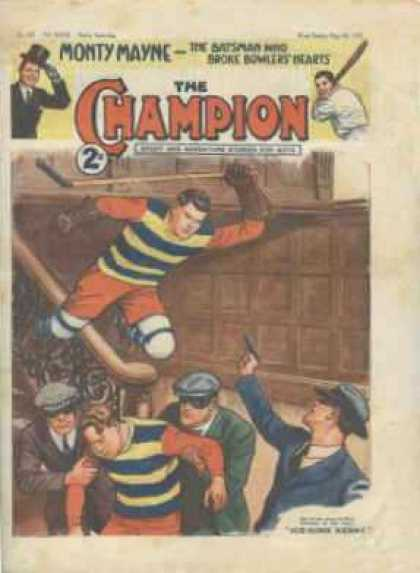 Champion 798 - Base Ball - Cops And Robbers - Crime - Hero - Action