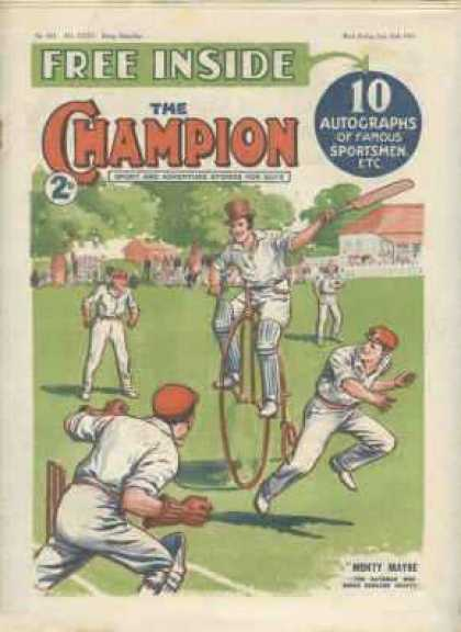 Champion 804 - The Champion - Sport - Cricket - Game - Winning