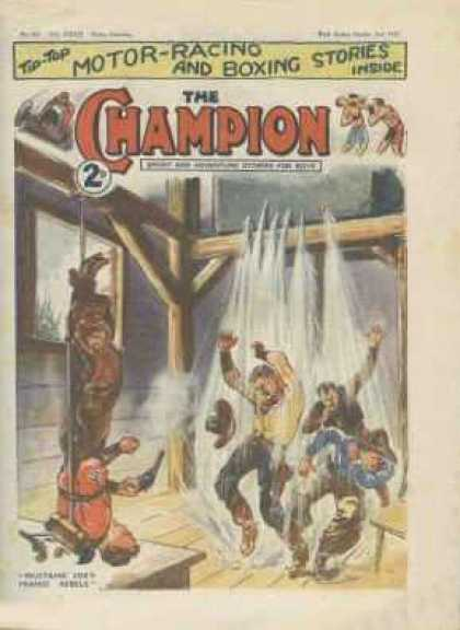 Champion 819 - Cowboys - Water - Rope - Tied Up - Champion