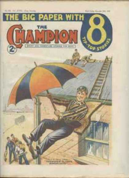 Champion 826 - Roof - Umbrella - Slide - Dick Van Dyke - Ladder