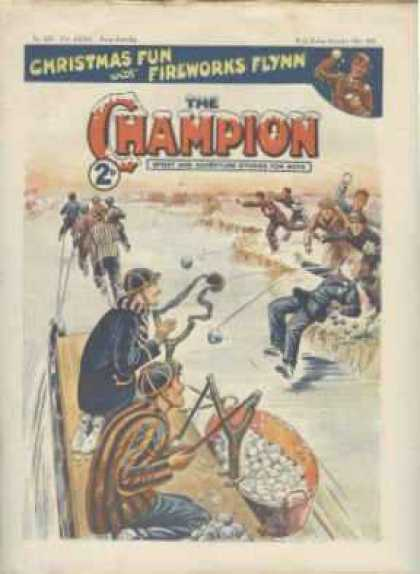 Champion 830 - Ice - Slingshiots - Boys - Snowballs - Winter