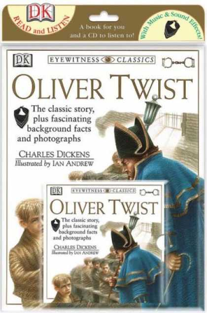 Charles Dickens Books - Oliver Twist (Read & Listen Books)