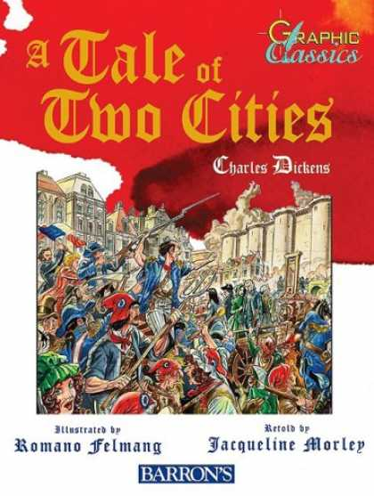 Charles Dickens Books - A Tale of Two Cities (Graphic Classics (Paper))