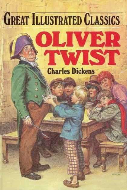 Charles Dickens Books - Oliver Twist (Great Illustrated Classics)