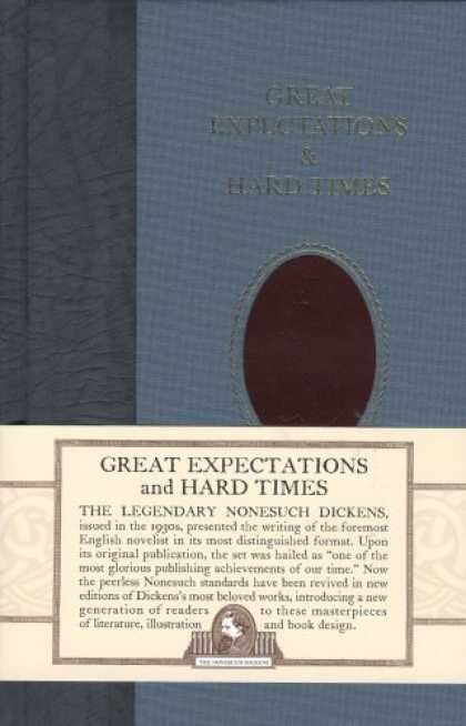 Charles Dickens Books - Great Expectations and Hard Times (Nonesuch Dickens)