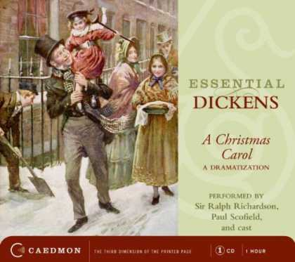Charles Dickens Books - Essential Dickens CD: Christmas Carol, A (Caedmon Essentials)