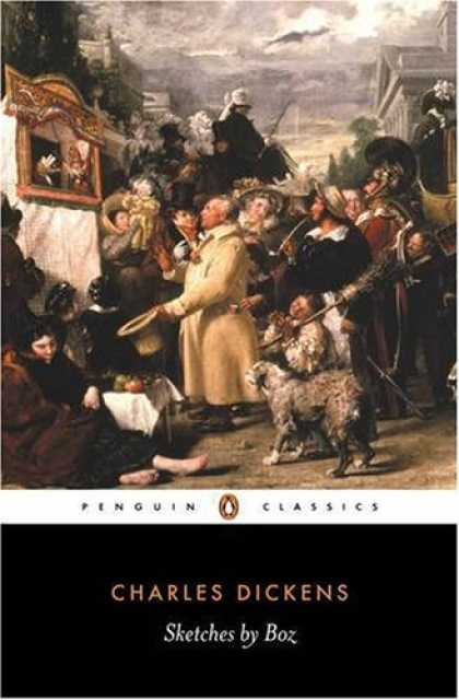 Charles Dickens Books - Sketches by Boz (Penguin Classics)