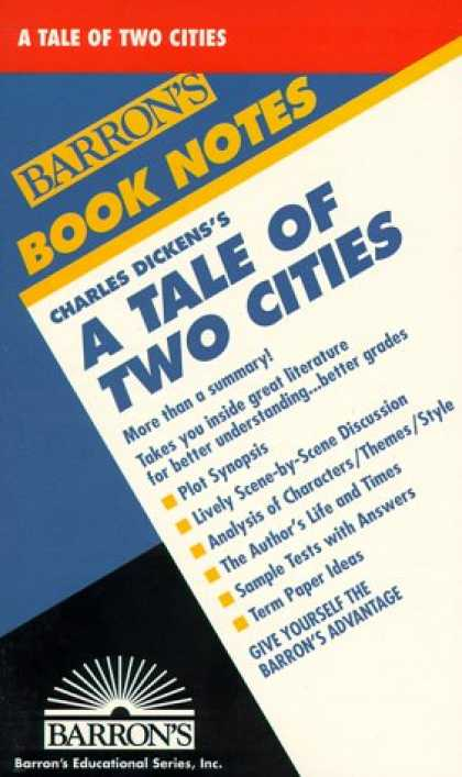 Charles Dickens Books - Tale of Two Cities, A (Barron's Book Notes)
